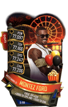 SuperCard MontezFord S5 25 WrestleMania35 Summer