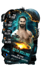SuperCard SethRollins S5 26 Cataclysm Event