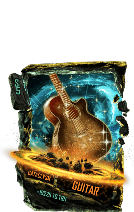 SuperCard Support Guitar S5 26 Cataclysm