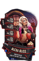 SuperCard AlexaBliss S5 22 Gothic Summer