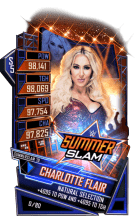 SuperCard CharlotteFlair S5 27 SummerSlam19