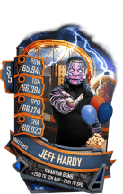 SuperCard JeffHardy S5 24 Shattered Summer