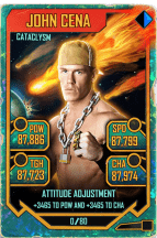 SuperCard JohnCena S5 26 Cataclysm Throwback