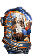 SuperCard LivMorgan S5 24 Shattered Summer