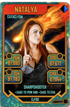 SuperCard Natalya S5 26 Cataclysm Throwback