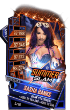 SuperCard SashaBanks S5 27 SummerSlam19