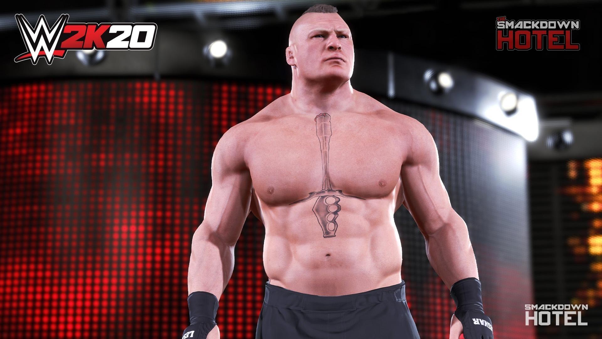 Wwe 2k20 First Official Screenshots Released Featuring Brock