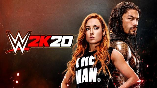 WWE 2K20 Cover Art Wallpaper