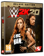 WWE 2K20 Deluxe Edition Cover Packshot