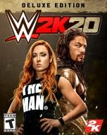 WWE 2K20 Deluxe Edition Cover US