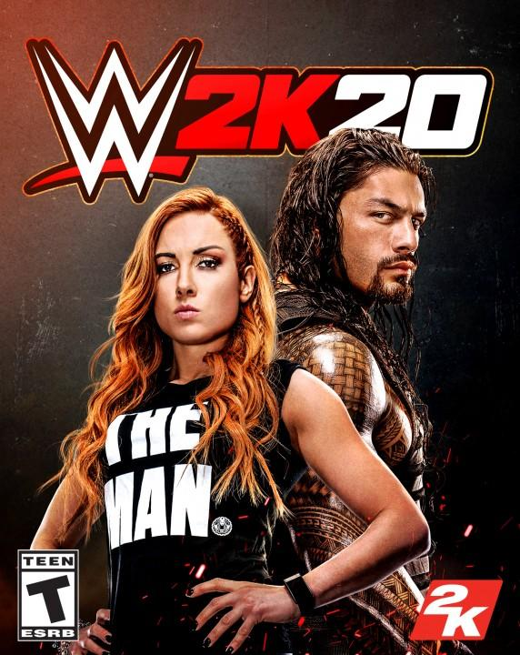 WWE 2K20 Standard Edition Cover US