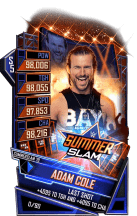 SuperCard AdamCole S5 27 SummerSlam19