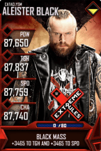 SuperCard AleisterBlack S5 26 Cataclysm MITB