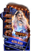 SuperCard AlexaBliss S5 27 SummerSlam19