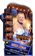 SuperCard BrockLesnar S5 27 SummerSlam19