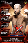 SuperCard Cesaro S5 26 Cataclysm MITB