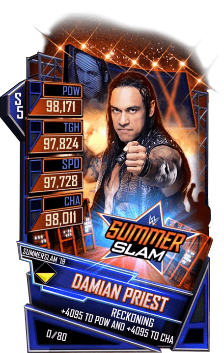 SuperCard DamianPriest S5 27 SummerSlam19