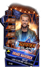 SuperCard DrakeMaverick S5 27 SummerSlam19