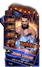 SuperCard JohnnyGargano S5 27 SummerSlam19