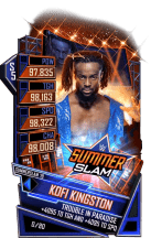 SuperCard KofiKingston S5 27 SummerSlam19
