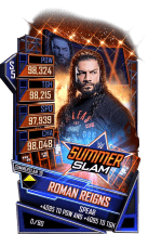 SuperCard RomanReigns S5 27 SummerSlam19