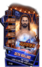 SuperCard SethRollins S5 27 SummerSlam19