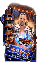 SuperCard ShawnMichaels S5 27 SummerSlam19