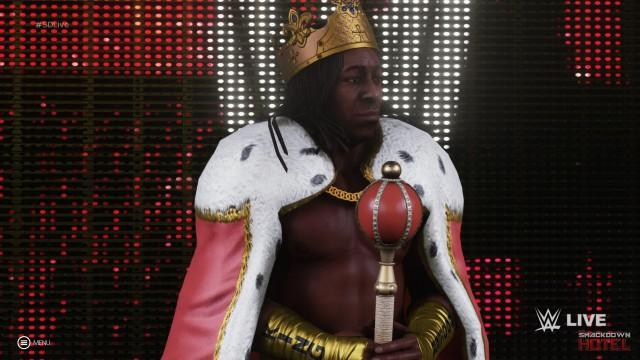 WWE2K19 KingBooker