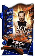 SuperCard AdamCole S5 27 SummerSlam19 Event