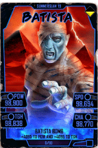 SuperCard Batista S5 27 SummerSlam19 Halloween