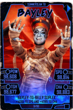 SuperCard Bayley S5 27 SummerSlam19 Halloween