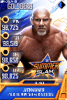 SuperCard Goldberg S5 27 SummerSlam19 MITB