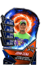 SuperCard JohnCena S5 27 SummerSlam19 Fusion