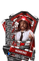 SuperCard Mankind S5 27 SummerSlam19 WWE2K20