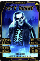 SuperCard PeteDunne S5 27 SummerSlam19 Halloween