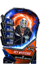SuperCard ReyMysterio S5 27 SummerSlam19 Fusion