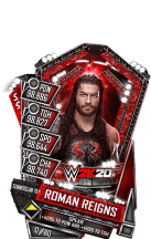 SuperCard RomanReigns S5 27 SummerSlam19 WWE2K20