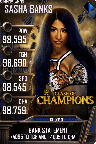 SuperCard SashaBanks S5 27 SummerSlam19 MITB
