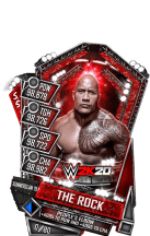 SuperCard TheRock S5 27 SummerSlam19 WWE2K20