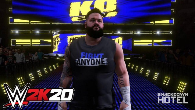 WWE2K20 Kevin Owens Entrance