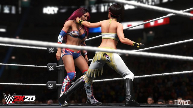 WWE 2K20 Women's Evolution Showcase