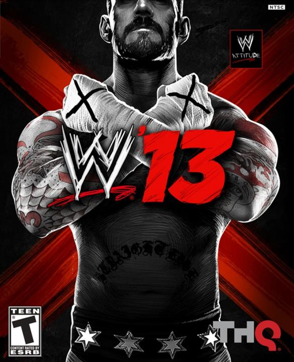 WWE13 Cover Official