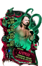SuperCard AJStyles S6 28 Nightmare