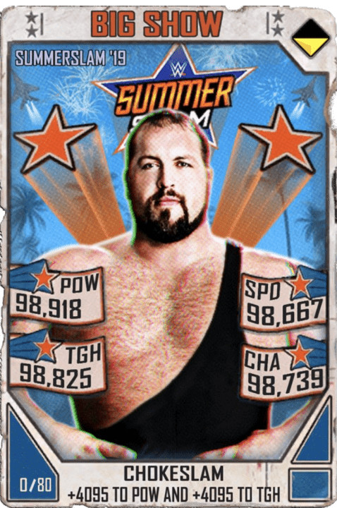SuperCard BigShow S5 27 SummerSlam19 Throwback