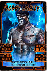 SuperCard BobbyLashley 24 Shattered Halloween