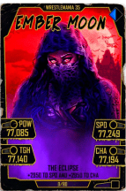 SuperCard EmberMoon S5 25 WrestleMania35 Halloween