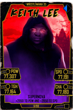 SuperCard KeithLee S5 25 WrestleMania35 Halloween