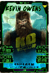 SuperCard KevinOwens S5 26 Cataclysm Halloween