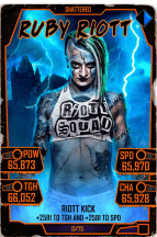 SuperCard RubyRiott S5 24 Shattered Halloween