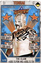 SuperCard Tensai S5 27 SummerSlam19 Throwback